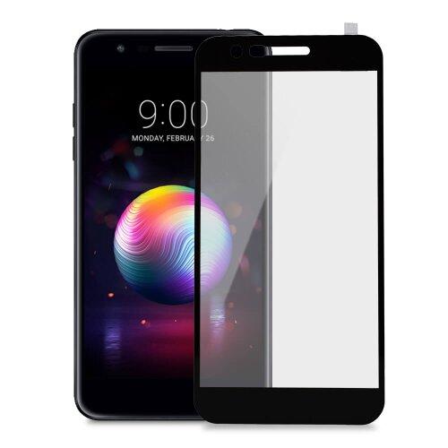 Ochranné sklo My Screen 9H LG K11 celotvárové - čierne