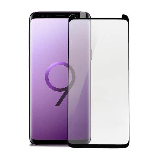 """Ochranné sklo X-ONE 4D Special Samsung Galaxy S9 G960 celotvárové """"case friendly"""" - čierne"""
