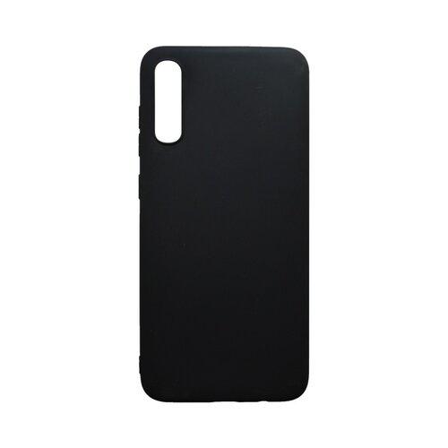 Matný silikónový kryt Samsung Galaxy A70 čierny