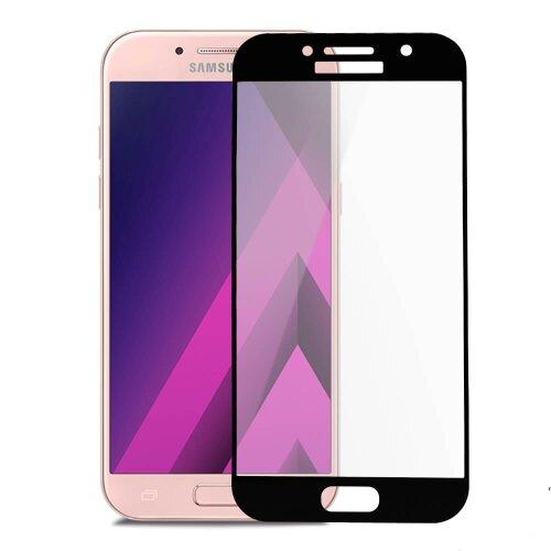 Ochranné sklo 5D Glass 9H Samsung Galaxy A5 A520 2017 celotvárové (full glue)- čierne