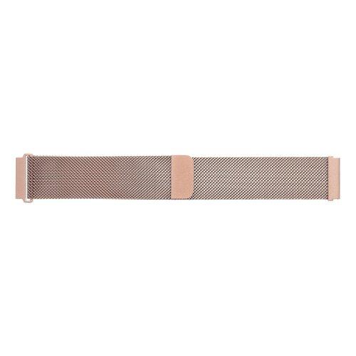 Tactical 317 Loop Magnetický kovový náramok pre Fitbit Charge 3/4 Ružovozlatý