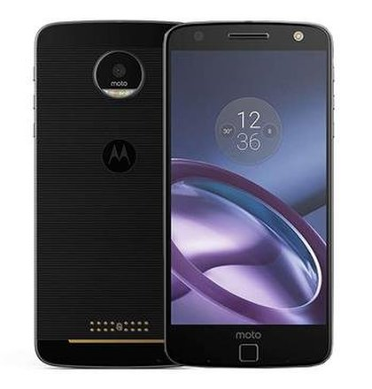 Motorola Moto Z 4GB/32GB Single SIM Čierny - Trieda B