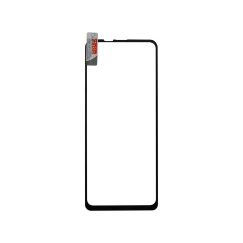 Ochranné sklo Q Motorola One Vision celotvárové - čierne (full glue)