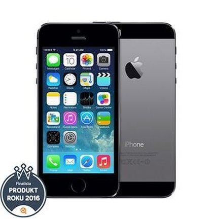 Apple iPhone 5S 16GB Space Gray - Trieda A