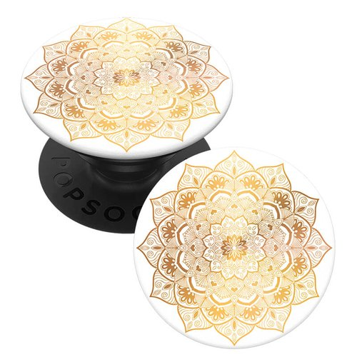 Original PopSocket Golden Silence mandala