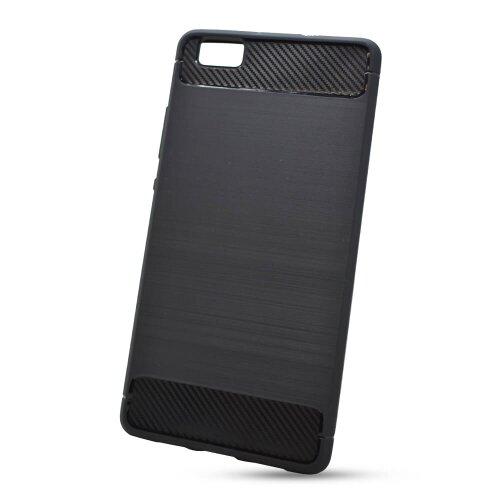 Puzdro Carbon Lux TPU Huawei P8 Lite - čierne