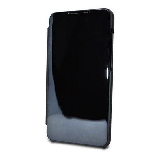 Puzdro Mirror Clear View Book Huawei P Smart Z/Honor 9X - čierne