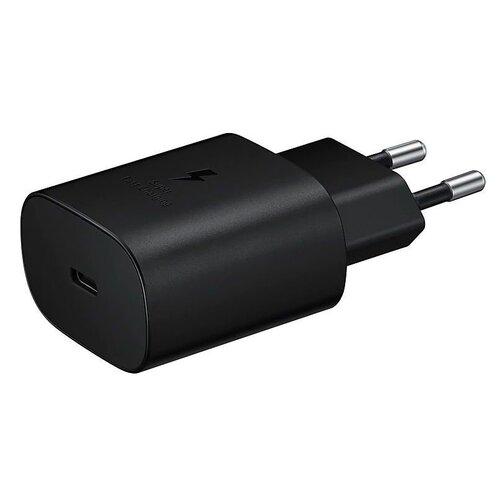 Nabíjací adaptér Samsung EP-TA800EBE Original Fast Charging 25W USB-C Čierny (Bulk)