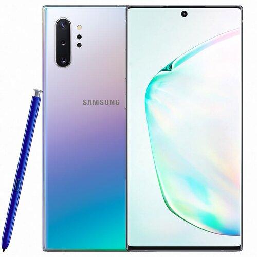 Samsung Galaxy Note 10+ 256GB N975F Dual SIM, Strieborný - SK distribúcia