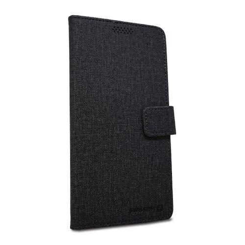Puzdro Swissten Libro Uni Book veľkosť XXL - čierne (170 x 83mm)
