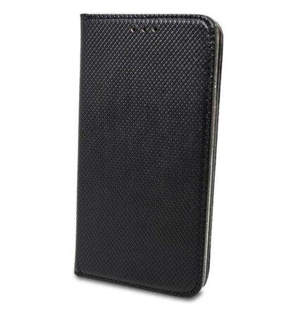 Puzdro Smart Book Motorola One - čierne