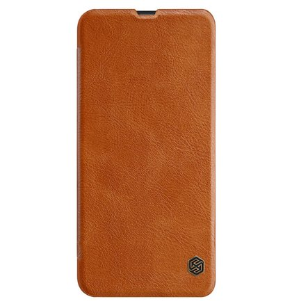 Nillkin Qin Book Pouzdro pro Samsung Galaxy M30 Brown