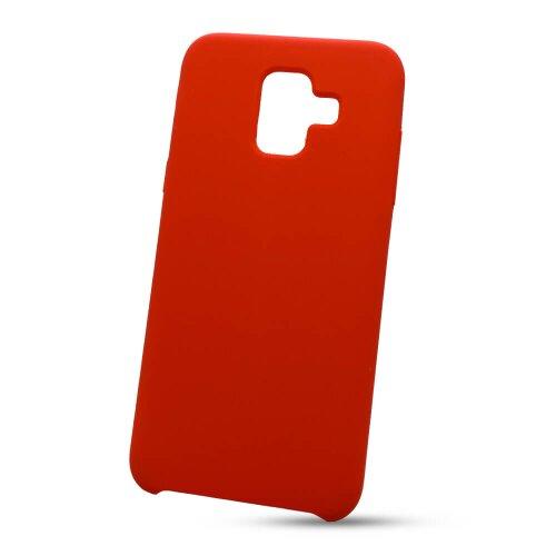 Puzdro Liquid TPU Samsung Galaxy A6 A600 - červené