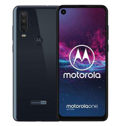 Motorola One Action 4GB/128GB Dual SIM, Modrá - SK distribúcia