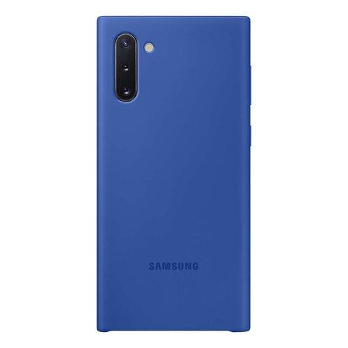 Puzdro Original Silicone EF-PN970TLEGWW Samsung Galaxy Note 10 N970 - modré