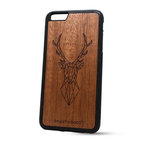 Puzdro SMARTWOODS TPU iPhone 6 Plus/6s Plus - Deer