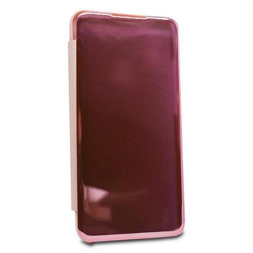Puzdro Mirror Clear View Book Huawei P Smart Z/Honor 9X - zlato-ružové