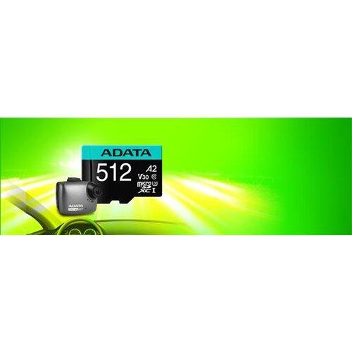 MicroSDXC/SDHC karta A-DATA Premier Pro UHS-I U3 95MB/s 256GB Class 10 (V30S) + adaptér