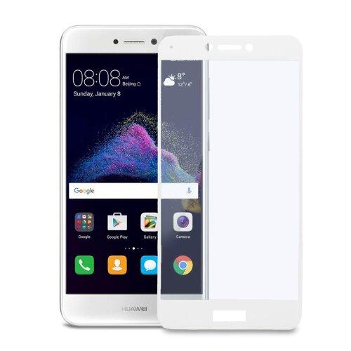 Ochranné sklo MyScreen Huawei P9 Lite 2017 tvrdosť 9H celotvárové - biele
