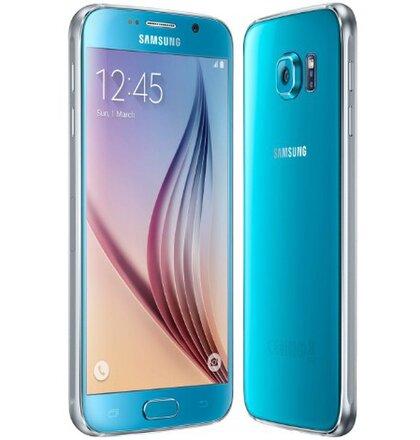 Samsung Galaxy S6 G920F 32GB Blue Topaz Modrý