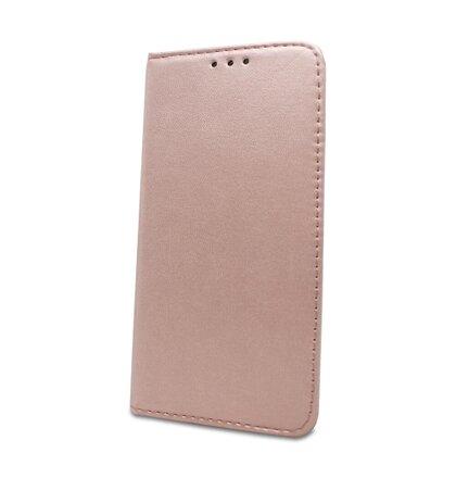 Puzdro Smart Magnetic Book Xiaomi Redmi 7A - zlato-ružové