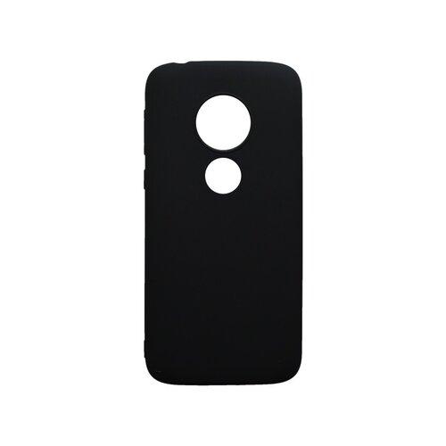 Matné silikónové puzdro Moto E5 Play čierne
