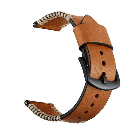 Handodo Cowhide Kožený Pásek pro iWatch 4 40mm Brown (EU Blister)