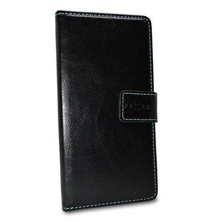Puzdro FIXED Opus Book Pocophone F1 - čierne