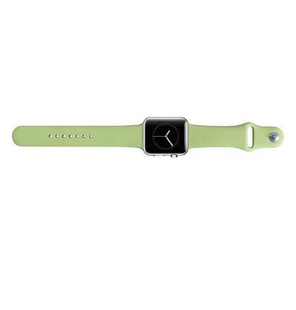 Handodo Silikonový Pásek pro iWatch 1/2/3 38mm Green (EU Blister)
