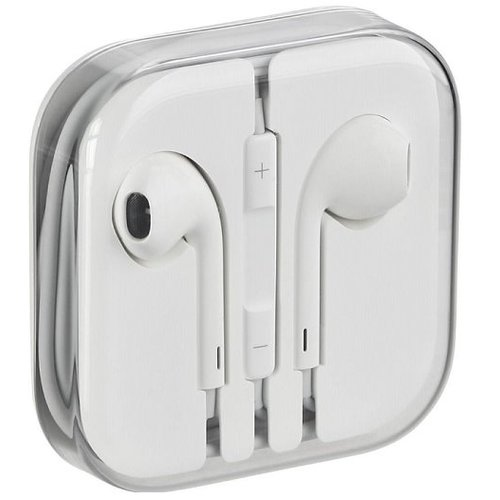 Original Apple EarPods MD827ZM Biele