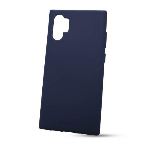 Puzdro Mercury Soft TPU Samsung Galaxy Note 10+ N975 - tmavo-modré
