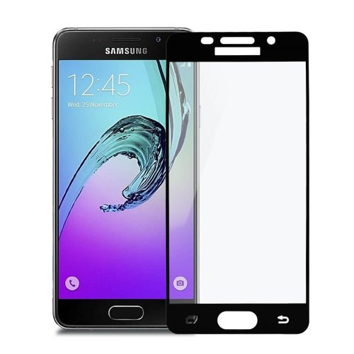 Tvrdené sklo My Screen Samsung Galaxy A3 A310 2016 celotvárové - čierne