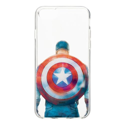MARVEL Captain America 002 Zadní Kryt Transparent pro Huawei P30 Lite