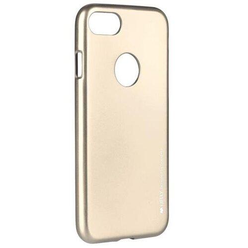 Puzdro Mercury i-Jelly TPU Huawei Y5 II/Y6 II Compact - metalické zlaté