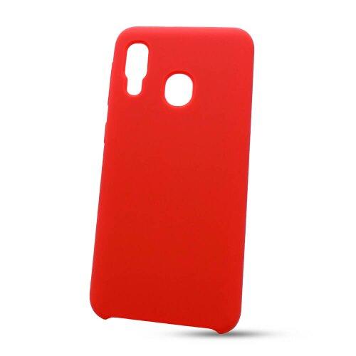 Puzdro Liquid TPU Samsung Galaxy A20e A202 - červené