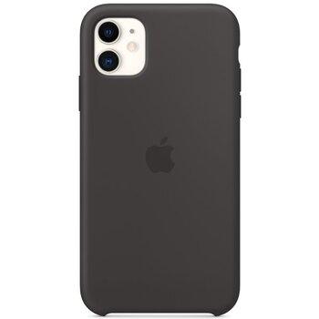 Apple iPhone 11 Silicone Case MWVU2ZM/A - Black