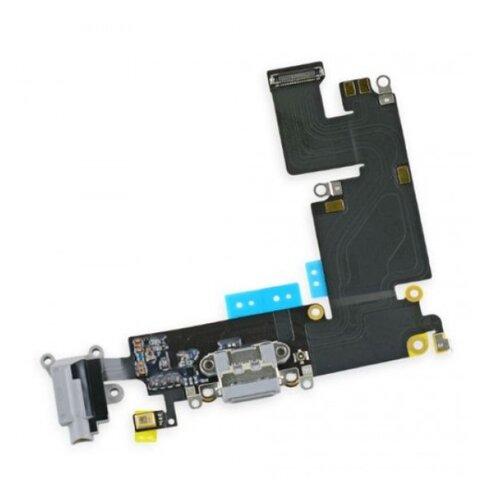Apple iPhone 6S Plus - Flex Kábel Nabíjacieho Konektora - Sivý