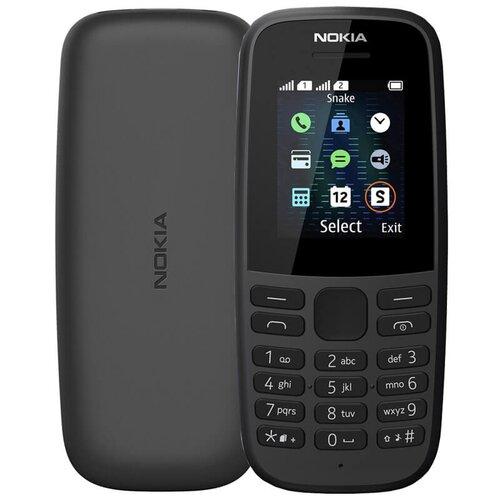 Nokia 105 (2019) Dual SIM, Čierny - SK distribúcia