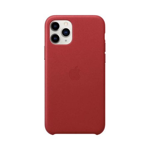 Apple iPhone 11 Pro Leather Case MWYF2ZM/A - (PRODUCT) RED