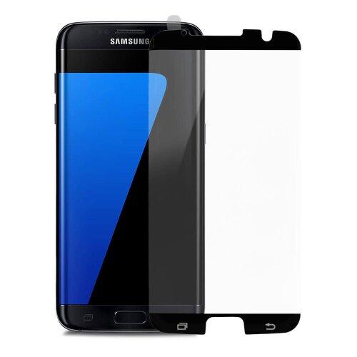 """Ochranné sklo X-ONE 4D Special Samsung Galaxy S7 Edge celotvárové """"case friendly"""" - čierne"""