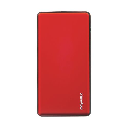MyMAx MP2 PowerBank QC 3.0 LCD Type C/MicroUSB 10000mAh Red (EU Blister)