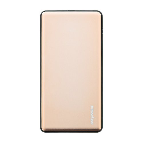 MyMAx MP2 PowerBank QC 3.0 LCD Type C/MicroUSB 10000mAh Gold (EU Blister)