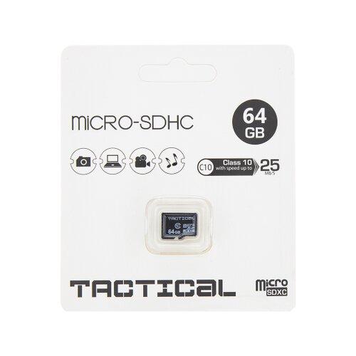 Tactical microSDXC 64GB Class 10 wo/a