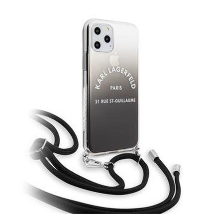 KLHCN65WOGRBK Karl Lagerfeld Gradient Kryt pro iPhone 11 Pro Max (EU Blister)