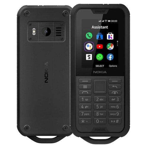 Nokia 800 Dual SIM, Čierna