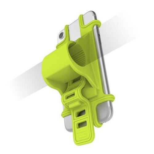 Univerzálny držiak CELLY EASY BIKE pre telefóny a navigácie na upevnenie na riadidlá - zelený