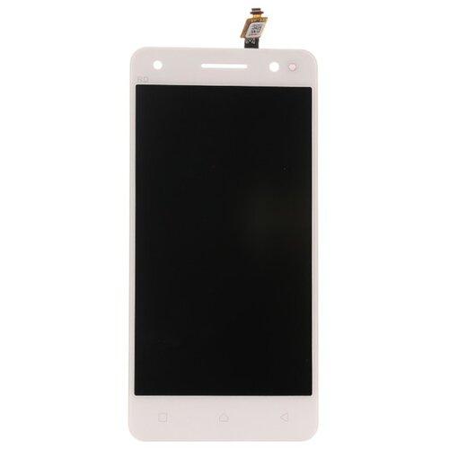 Lenovo Vibe S1 Lite - LCD Displej + Dotyková Plocha - Biely