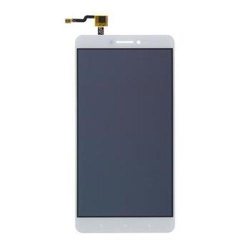 Xiaomi Mi Max - LCD Displej + Dotyková Plocha - Biely