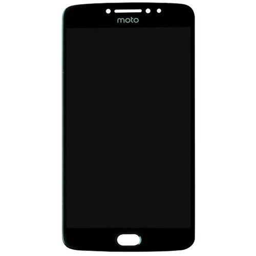 Motorola Moto E4 - LCD Displej + Dotyková Plocha - Čierny
