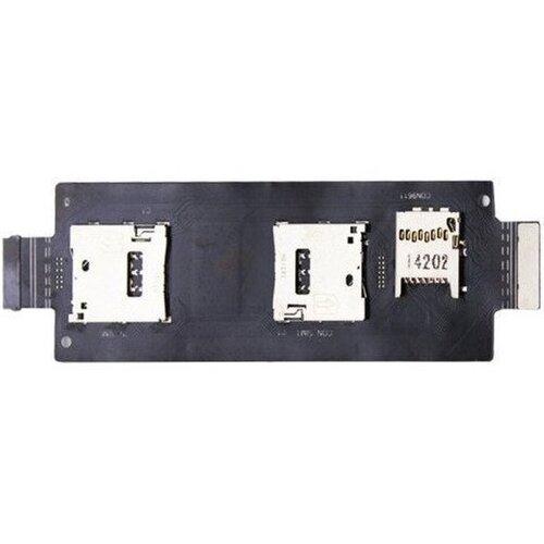Asus Zenfone 2 - Flex Kábel Čítačky SIM a SD Kariet